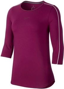 Футболка женская Nike Court 3/4 Sleeve True Berry/White  AQ7658-627  sp19