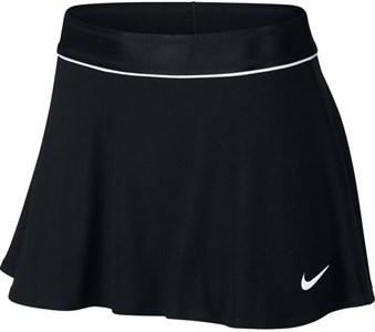 Юбка женская Nike Court Dry Flouncy Black/White  939318-010  sp19