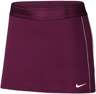 Юбка женская Nike Court Dry Bordeaux/White  939320-609  fa18