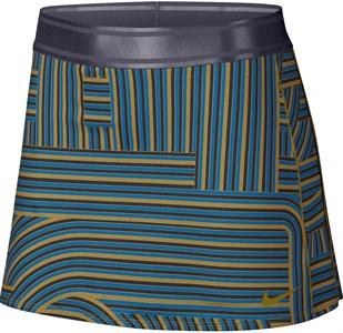 Юбка женская Nike Court Dry Printed Peatmoss/Gridiron  AH7854-386  ho18