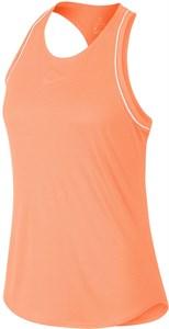 Майка женская Nike Court Dry Orange Pulse/White  939314-809  su19