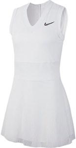 Платье женское Nike Court Dry Slam White/Black  AT5140-100  fa19