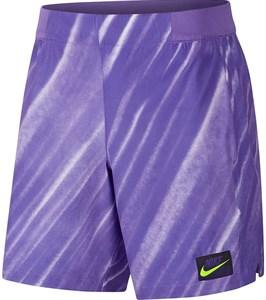 Шорты мужские Nike Court Flex Ace New York 9 Inch Psychic Purple/Volt  AT4319-550  fa19