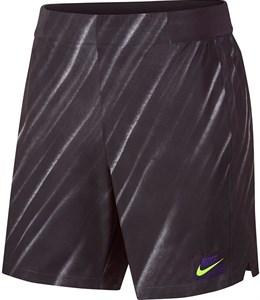 Шорты мужские Nike Court Flex Ace New York 9 Inch Off Noir/Volt  AT4319-045  fa19