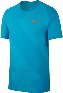 Футболка мужская Nike Court Rafa Light Blue  AR5713-433  sp19