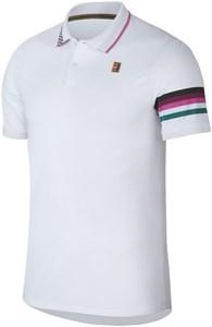 Поло мужское Nike Court Advantage White  AJ8072-101  sp19