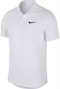 Поло мужское Nike Court Advantage White  AT4146-100  fa19
