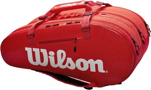 Сумка Wilson SUPER TOUR 3 COMP X15 RED  WRZ840815  sp19