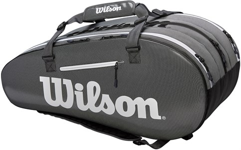 Сумка Wilson Super Tour 3 Comp X15 Black/Grey  WRZ843915