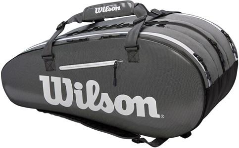 Сумка Wilson SUPER TOUR 3 COMP X15 BLACK/GREY  WRZ843915  sp19