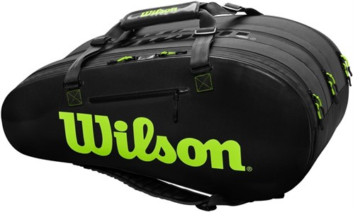 Сумка Wilson Super Tour 3 Comp X15 Charco/Green  WR8004101001