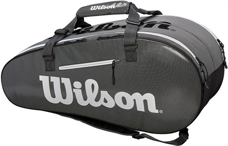 Сумка Wilson SUPER TOUR 2 Comp X9 Black/Grey  WRZ843909