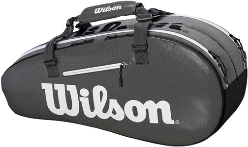 Сумка Wilson Super Tour 2 Comp X6 Black/Grey  WRZ843906