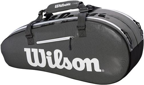 Сумка Wilson SUPER TOUR 2 COMP X6 BLACK/GREY  WRZ843906  sp19