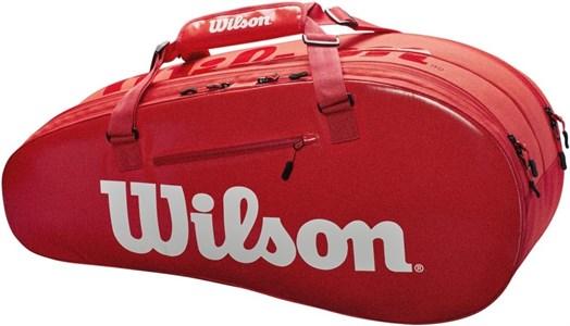 Сумка Wilson SUPER TOUR 2 COMP X6 RED  WRZ840803  sp19