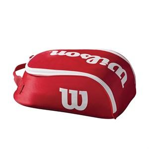 Сумка для обуви Wilson TOUR IV SHOE BAG RED WRZ847887  sp19