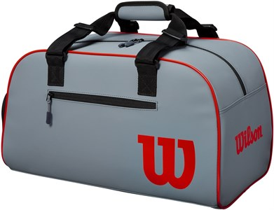 Сумка Wilson Clash Duffle Small Grey/Red  WR8002501001