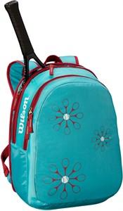 Рюкзак детский Wilson JUNIOR BLUE/PINK  WRZ643995  sp19