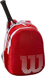 Рюкзак детский Wilson JUNIOR RED/WHITE  WRZ647995  sp19