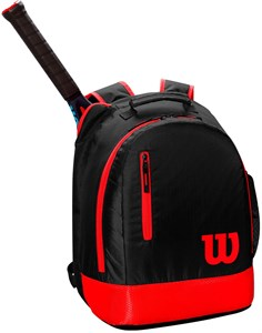 Рюкзак детский Wilson YOUTH BLACK/RED  WR8000001001  sp19