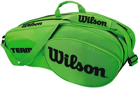 Сумка Wilson TEAM III X6 Green/Black  WRZ854806