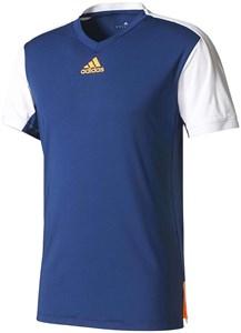 Футболка для мальчиков Adidas Melbourne Navy/White/Fluo Orange  BJ8208  sp17