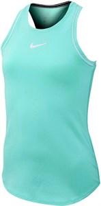 Майка для девочек Nike Court Dry Light Aqua/White  AR2501-434  fa19
