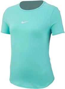 Футболка для девочек Nike Court Dry Light Aqua/White  AR2348-434  fa19