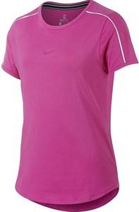 Футболка для девочек Nike Court Dry Pink/White  AR2348-623  sp19