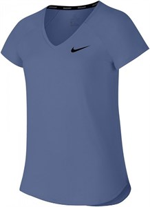 Футболка для девочек Nike Court Pure Purple Slate/Black  AO8351-522  sp18