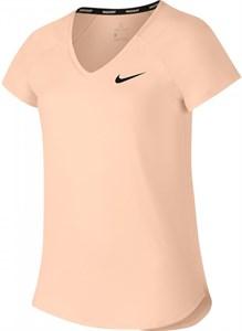 Футболка для девочек Nike Court Pure Crimson Tint/Black  AO8351-814  sp18