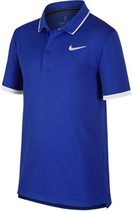Поло для мальчиков Nike Court Dry Game Royal/White  BQ8792-480  fa19