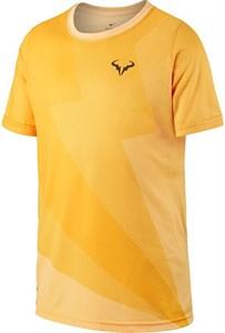 Футболка для мальчиков Nike Court Rafa Graphic Orange  AR2384-845  su19