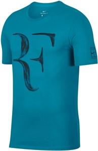 Футболка для мальчиков Nike Court Legend RF Neo Turquoise  AO2958-430  su18