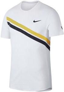 Футболка для мальчиков Nike Court Legend RF White/Bright Citron  AO2956-101  sp18