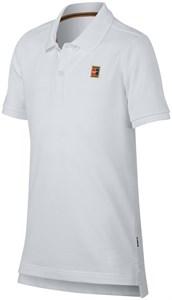 Поло для мальчиков Nike Court Heritage White  AQ0962-100  ho18