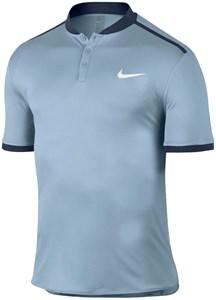 Поло для мальчиков Nike Court Advantage Solid Blue Grey/Navy  848215-449  ho16