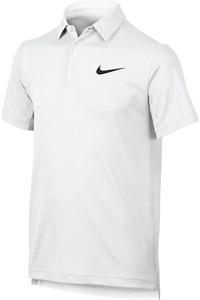 Поло для мальчиков Nike Court Dry White  844311-100  fa17
