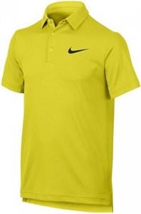Поло для мальчиков Nike Court Dry Yellow  844311-358 sp17