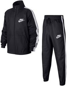Костюм для мальчиков Nike Woven Track Grey/White  AR5103-060   fa18