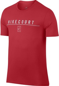 Футболка мужская Nike Court Red  905285-653  fa17