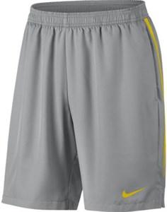 Шорты мужские Nike Court Dry 9 Inch Vast Grey/Bright Citron  830821-092  sp18