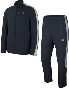 Костюм мужской Nike Court Woven Warm Up Dark Obsidian/Grey  899622-475  fa17