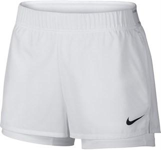 Шорты женские Nike Court Flex White/Black  939312-100  fa19