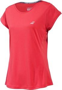 Футболка женская Babolat Perfomance Cap Sleeve Hibiscus  2WS19031-5019