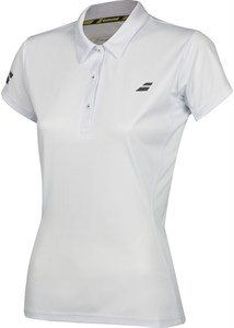 Поло женское Babolat Core Club White  3WS18021-1000