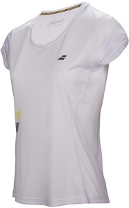Футболка женская Babolat Core Flag Club White  3WS17011-101