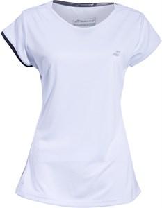 Футболка для девочек Babolat Perfomance Cap Sleeve White/Silver  2GS19031-1019