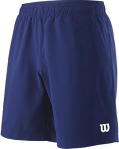 Шорты мужские Wilson Team 8 Inch Blue Depth  WRA765503  sp19