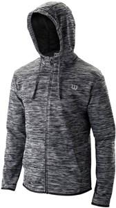 Куртка мужская Wilson Training Hooded Black/Grey  WRA774301  su19